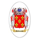 Maldanado Sticker (Oval 50 pk)