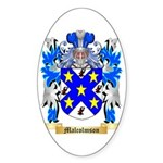 Malcolmson Sticker (Oval 10 pk)