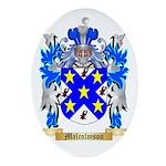 Malcolmson Oval Ornament