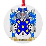 Malcolm Round Ornament