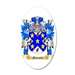 Malcolm 35x21 Oval Wall Decal