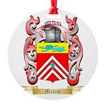 Malam Round Ornament