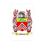 Malam Sticker (Rectangle 50 pk)