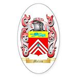 Malam Sticker (Oval)