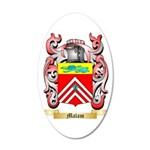 Malam 35x21 Oval Wall Decal
