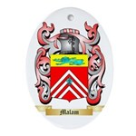 Malam Oval Ornament