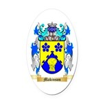 Makinson Oval Car Magnet