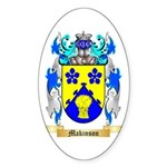 Makinson Sticker (Oval 10 pk)