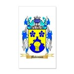 Makinson 20x12 Wall Decal