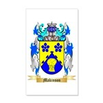 Makinson 35x21 Wall Decal