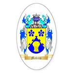 Makins Sticker (Oval 50 pk)