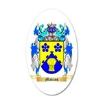Makins 35x21 Oval Wall Decal