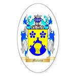 Makein Sticker (Oval 50 pk)
