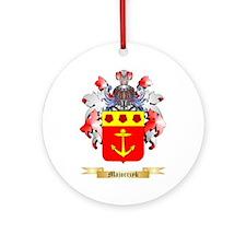 Majorczyk Round Ornament