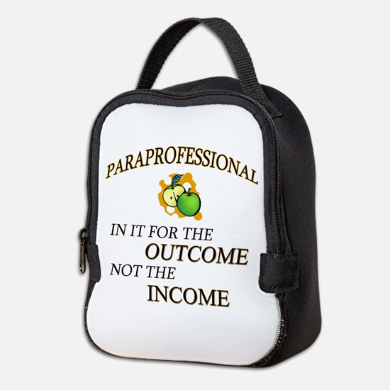 Paraprofessional Neoprene Lunch Bag