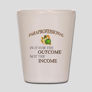 Paraprofessional Shot Glass