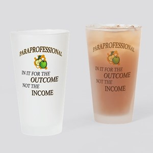 Paraprofessional Drinking Glass