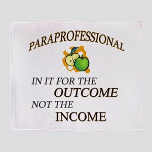 Paraprofessional Throw Blanket