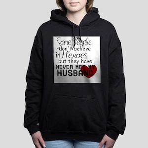 Husband hero Women's Hooded Sweatshirt