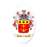 Majerowicz Oval Car Magnet