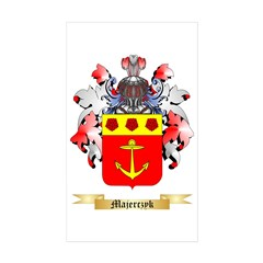 Majerczyk Sticker (Rectangle 10 pk)