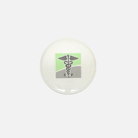 Funny Speech therapist Mini Button