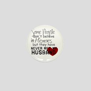 Husband hero Mini Button