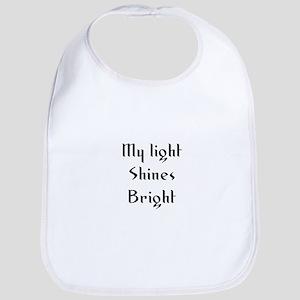 My light Shines Bright Bib