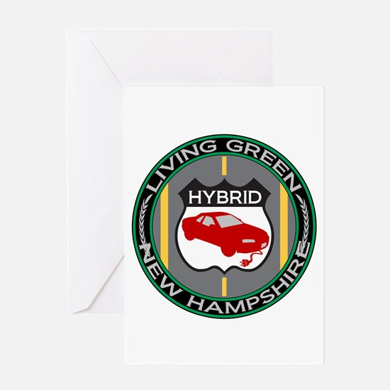 Living Green Hybrid New Hampshire Greeting Card