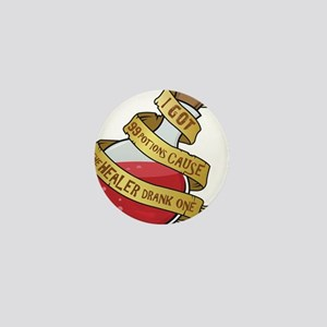 I got 99 Health Potions Mini Button (100 pack)