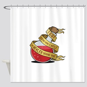 I got 99 Health Potions Shower Curtain