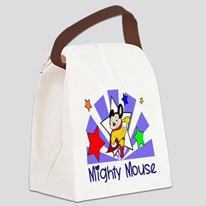 Mighty Mouse TV Canvas Lunch Bag