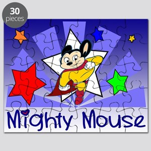 Mighty Mouse TV Puzzle