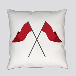 Color Guard Flags Everyday Pillow