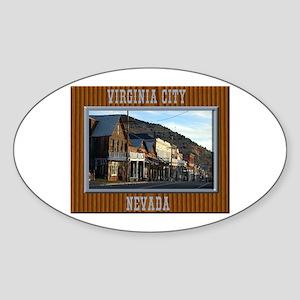 Virginia City Sticker