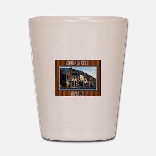 Virginia City Shot Glass