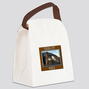 Virginia City Canvas Lunch Bag