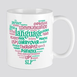 SLP Heart Mugs