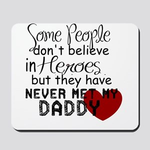 Hero Daddy Mousepad