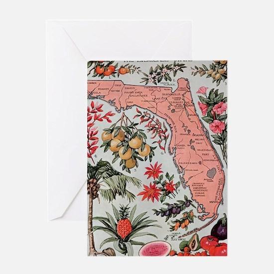 Unique Florida Greeting Card