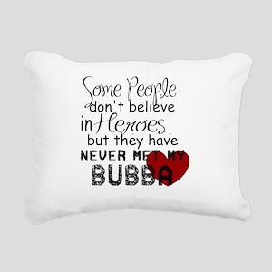 Bubba Hero Rectangular Canvas Pillow