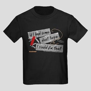 MacGyver: Duct Tape Kids Dark T-Shirt