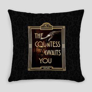AHS Hotel The Countess Awaits Everyday Pillow
