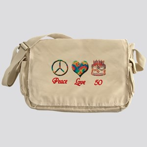 50th. Birthday Messenger Bag