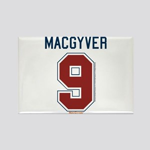 MacGyver: 9 Hockey Jersey Rectangle Magnet