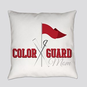 Color Guard Mom Everyday Pillow