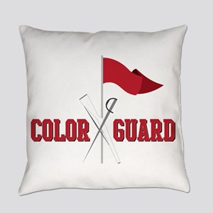 Color Guard Everyday Pillow