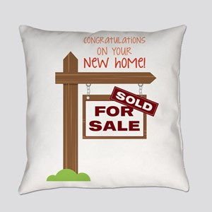 New Home Everyday Pillow