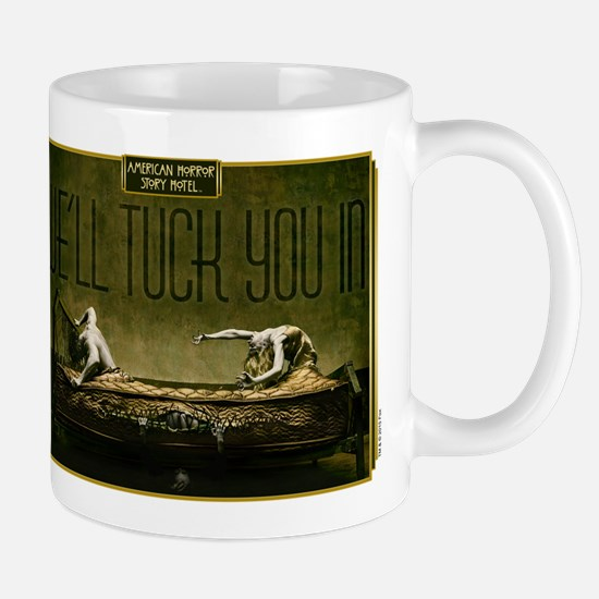 AHS Hotel We'll Tuck You In Mug