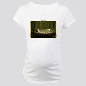 AHS Hotel We'll Tuck You In Maternity T-Shirt